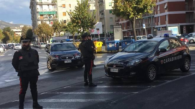 Carabinieri, pattugliamento, controlli, arresti Albenga