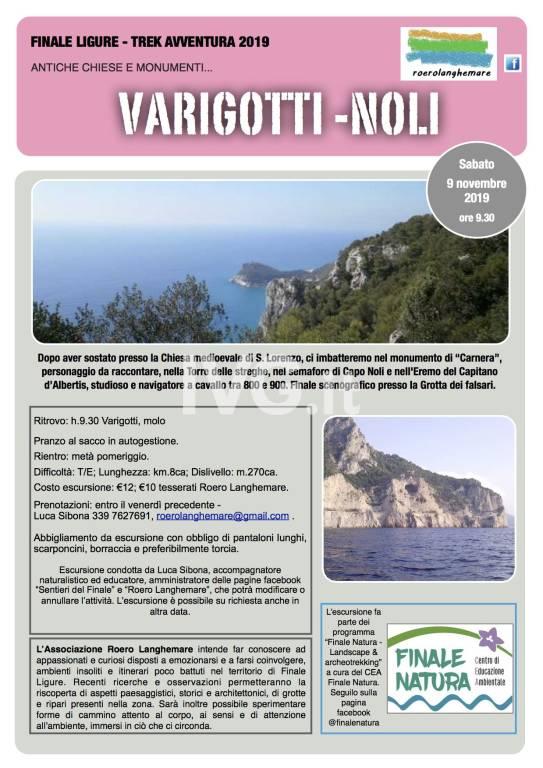 Escursione Varigotti - Noli