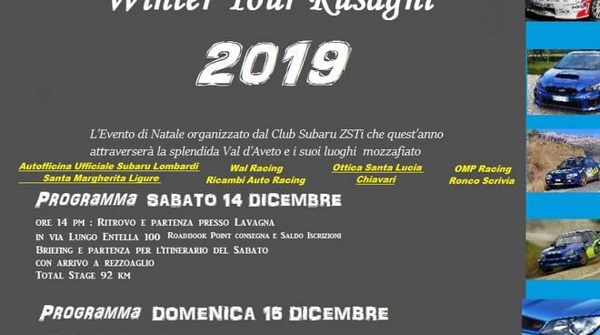 Winter Tour Rusagni 2019 by ZSTi Subaru Club in Liguria