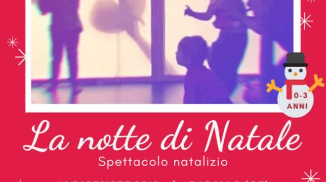 La notte di Natale - Teatro in Fasce per bambini 0-3 anni a Rapallo