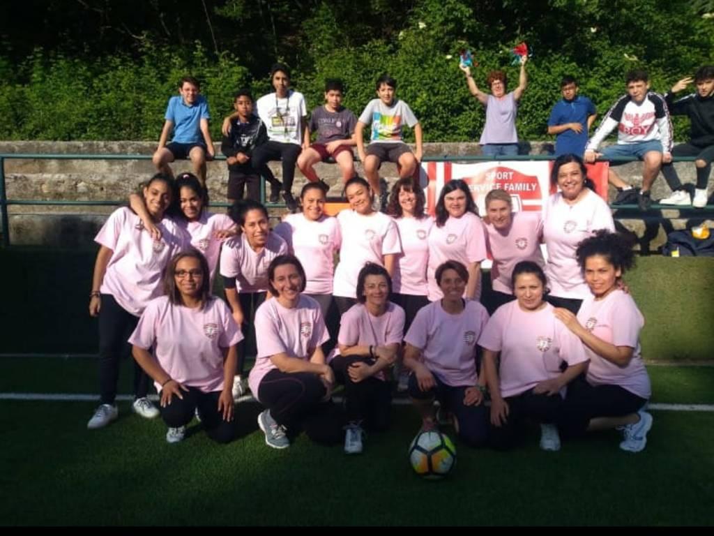 Calcio femminile per beneficenza