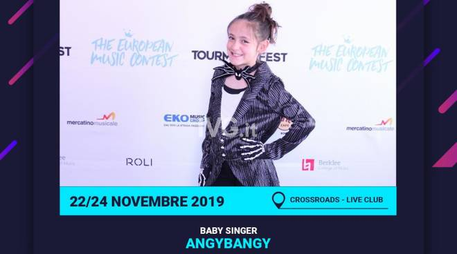 Invio comunicato stampa artista AngyBangy selezionata per la Finale Nazionale del Tour Music Fest
