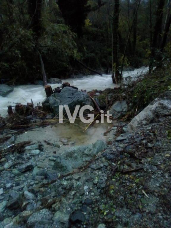 Danni alluvionali Rio Crivezzo Stella