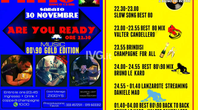 Are You Ready  Music 80\\90 Golden Edition