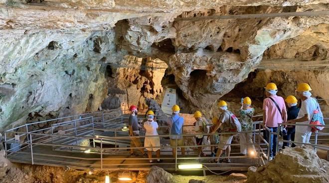Caverna Arene Candide Finale Ligure visite guidate