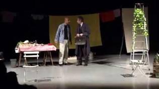 """""""Direzione controvento"""" spettacolo teatrale Marco Segrini e Carlo Ponta Savona"""