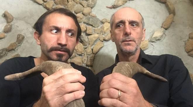 """""""Don Pasquale Cyrcus"""" spettacolo teatrale Simone Barbato e Andrea Nicolini"""
