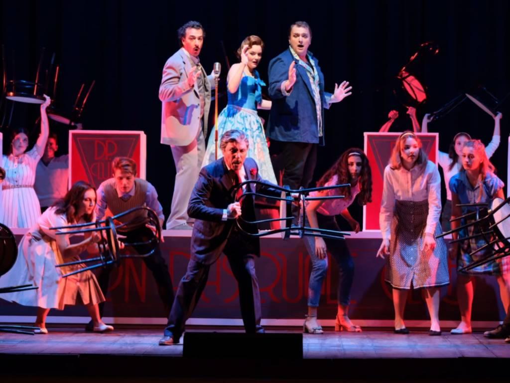 """""""Don Pasquale"""" spettacolo teatrale Gaetano Donizetti Savona"""