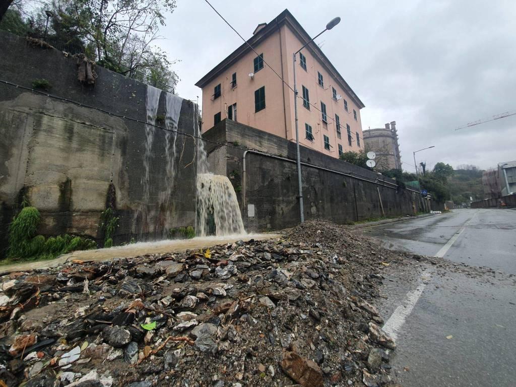 Esondazione Fegino