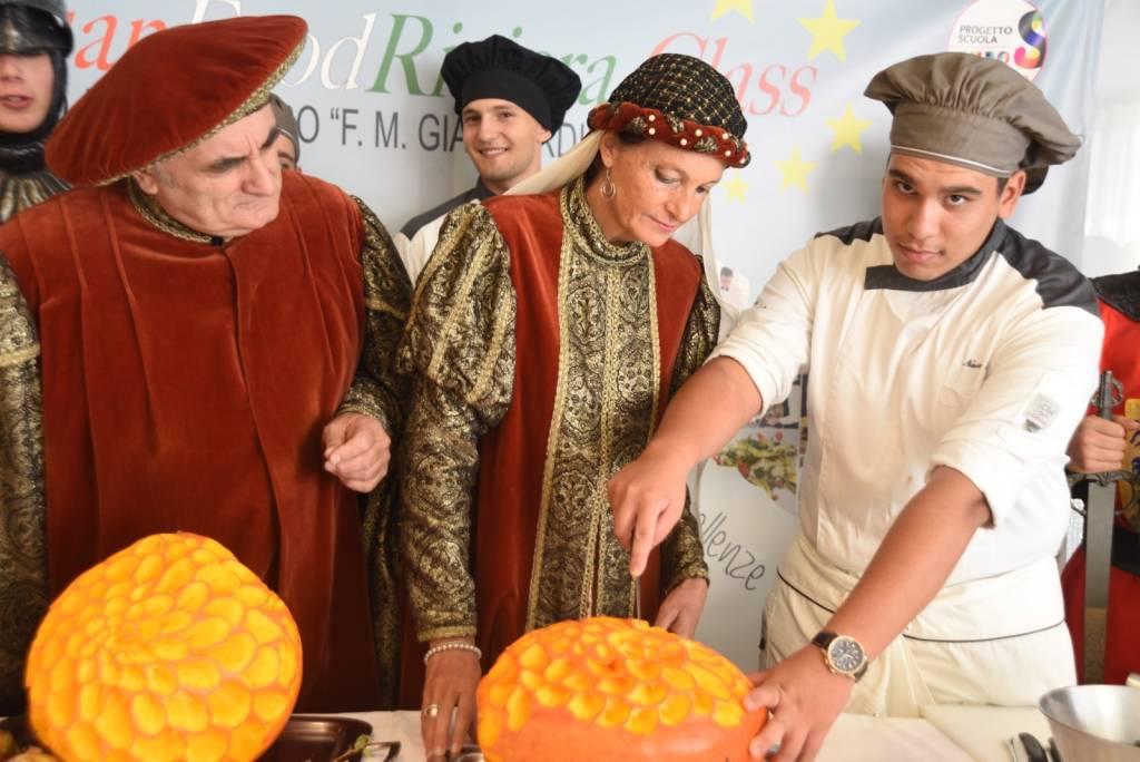 Festa della Zucca 2019 Zuccarello con Alberghiero Alassio