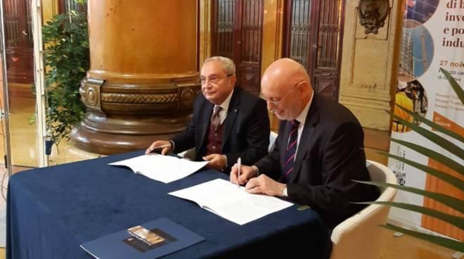 firma accordo fincantieri università