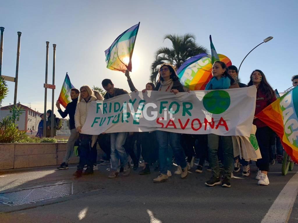 Fridays for Future, partita a Savona la quarta marcia mondiale per il clima