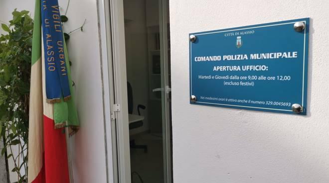 Nuovo ufficio polizia municipale Moglio