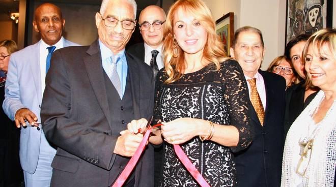 Inaugurazione mostra Nenne Sanguineti Poggi Milano