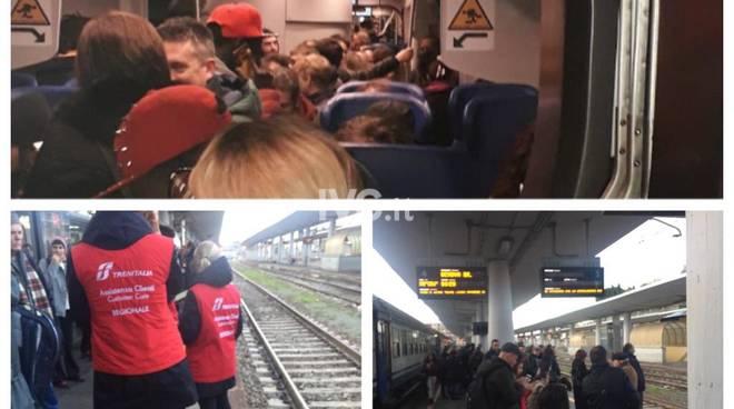 Ritardi Treni 28 novembre allerta rossa