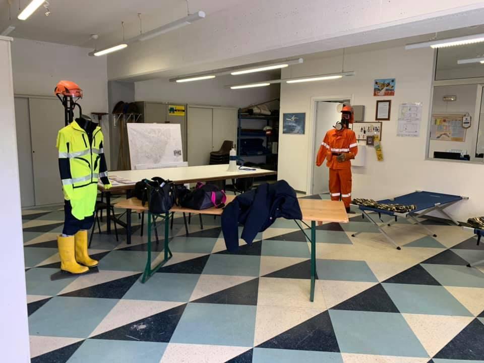 Gli alunni di Borghetto a lezione di protezione civile