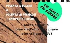 """Gulasch e Polenta"" Parco AsinOlla Pietra Ligure"