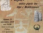 """""""I Liguri, antico popolo tra Alpi e Mediterraneo"""" conferenza Giorgio Amico Spotorno"""