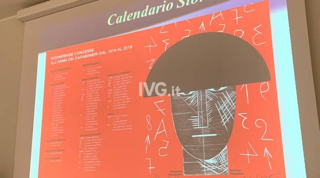 Il calendario 2020 dell'Arma dei Carabinieri