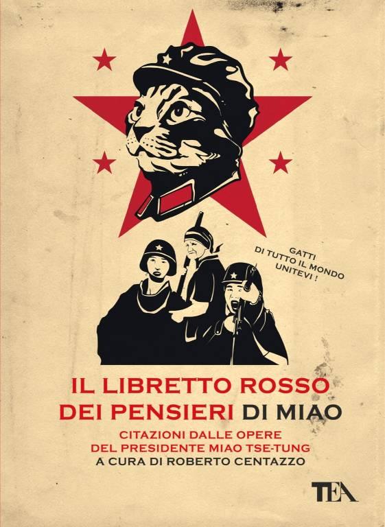 """""""Il libretto rosso dei pensieri di Miao"""" libro Roberto Centazzo"""