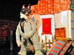 """""""Il lupo e i 7 capretti"""" spettacolo Teatro dell'Erba Matta Borgio Verezzi"""