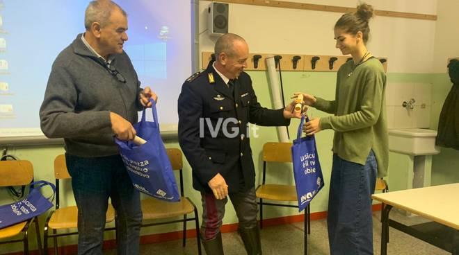 Inail, liceo artistico, salute e sicurezza, polizia di Stato, Savona