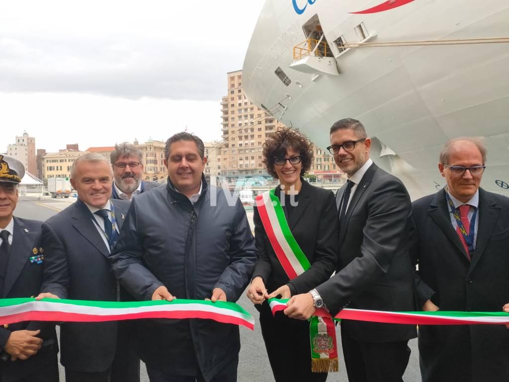 """Inaugurati la """"rinnovata"""" banchina Calata delle Vele ed il terminal 1 del Palacrociere"""