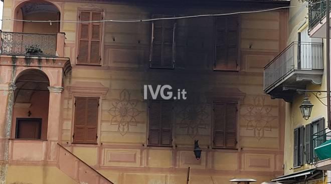 Incendio centro Borghetto