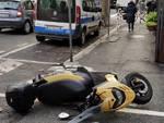 incidente scooter albisola corso Mazzini
