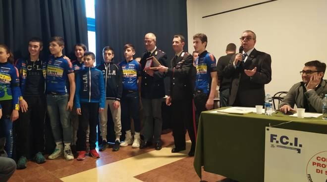 La Federciclismo premia gli atleti savonesi
