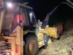 lavori notte frana roccavignale