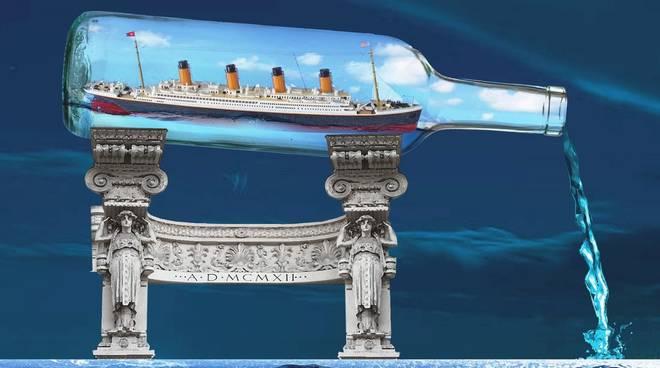 """""""Le profezie del Titanic"""" libro Pasquale Mottolese"""