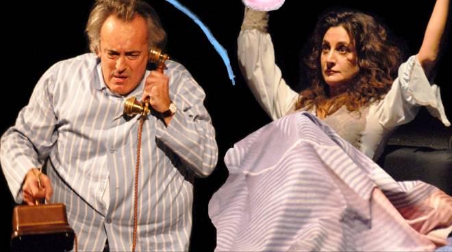 Mario Zucca e Marina Thovez attori teatro
