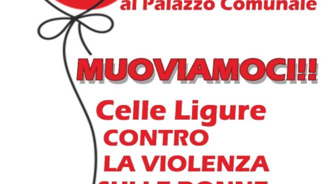 """""""Muoviamoci!!"""" manifestazione Celle Ligure violenza donne 30 novembre 2019"""