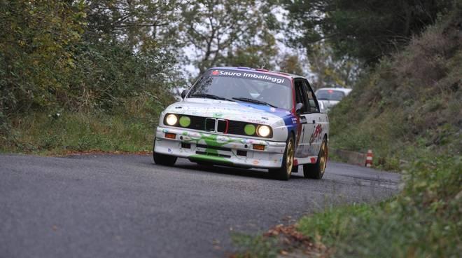 Nella foto (Nicolas Rettagliati): la Bmw M3 di Gabriele Noberasco, terza forza della gara