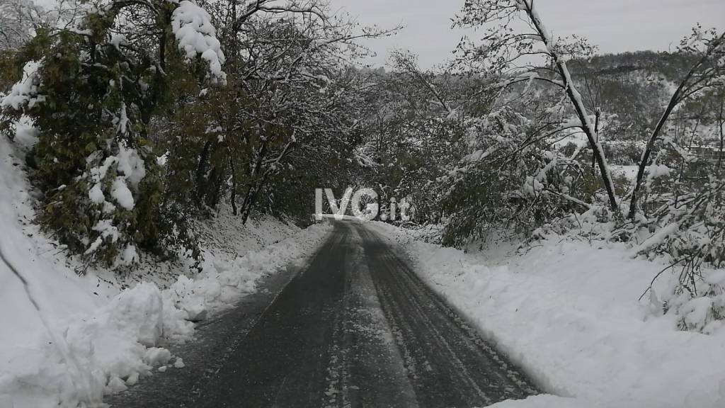 neve frane strade provinciali