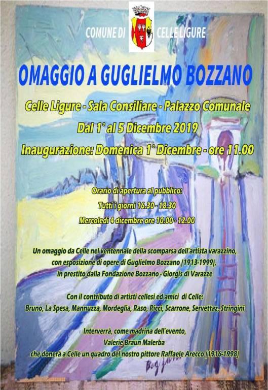 """""""Omaggio a Guglielmo Bozzano"""" mostra d'arte Celle Ligure"""