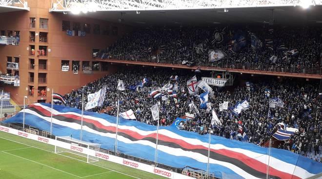 sampdoria-atalanta gradinata sud
