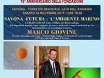 """""""Savona Futura: l'ambiente marino"""" conferenza Marco Giovine"""
