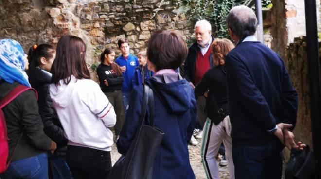 Studenti Albenga visita San Calocero