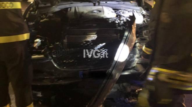 Suv Jaguar incidente