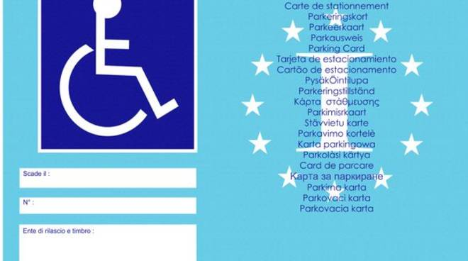 talloncino disabili