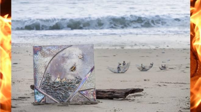 """""""Un sogno per un desiderio... al quadrato"""" mostra ceramista Gabry Cominale Carcare"""