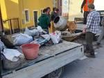 Volontari maltempo danni Vendone