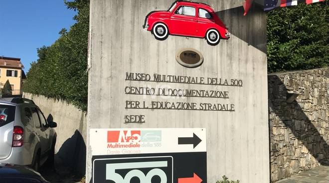 A2A Garlenda Fiat 500 Club firma convenzione