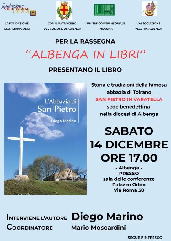 """""""L'abbazia di San Pietro"""" libro Diego Marino Albenga"""