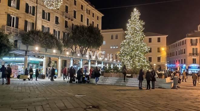 Albero natale Savona 2019