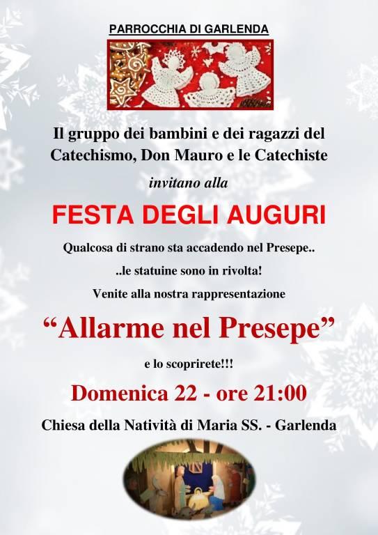 """Allarme nel Presepe!"" spettacolo Natale Garlenda"
