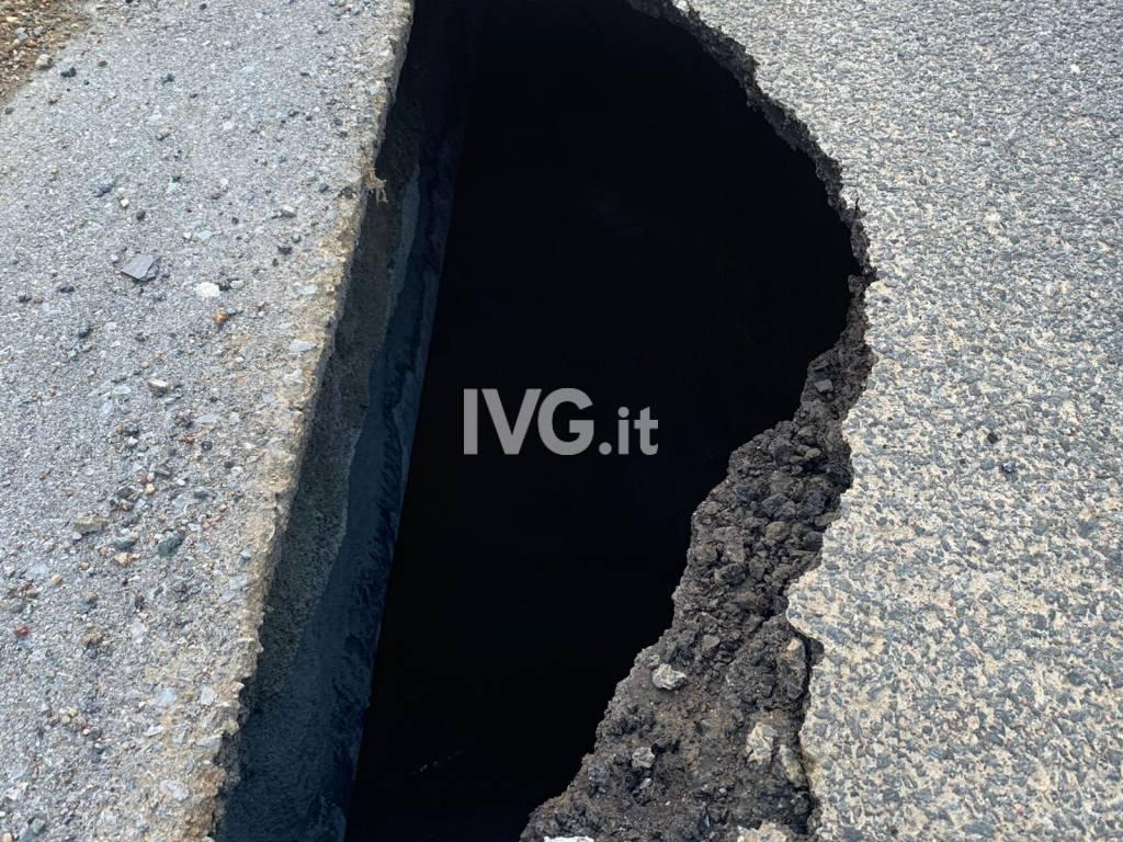 Allarme Sp29 del Cadibona, strada chiusa in entrambe le direzioni