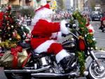 Babbo Natale in moto